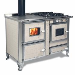 Cuisinière Mixte Wekos 120 LGE / F inox