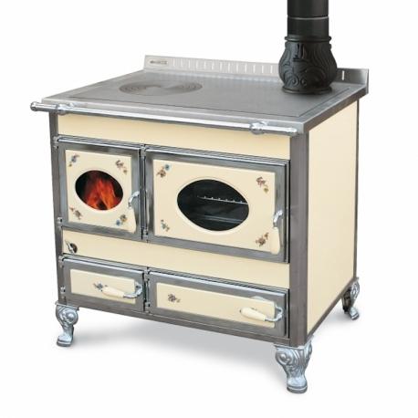 nouveaux styles 5a310 553a8 cuisinière à bois Bouilleur wekos classic 90 / sf inox